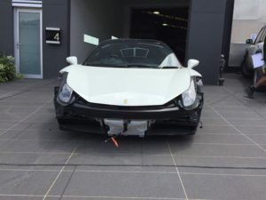 Ferrari F458 – Before