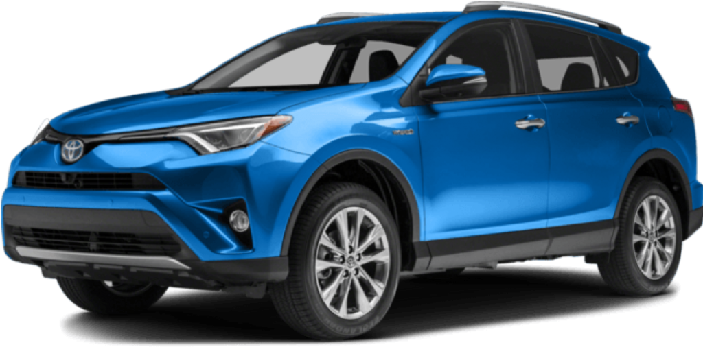 toyota SUV blue PNG image