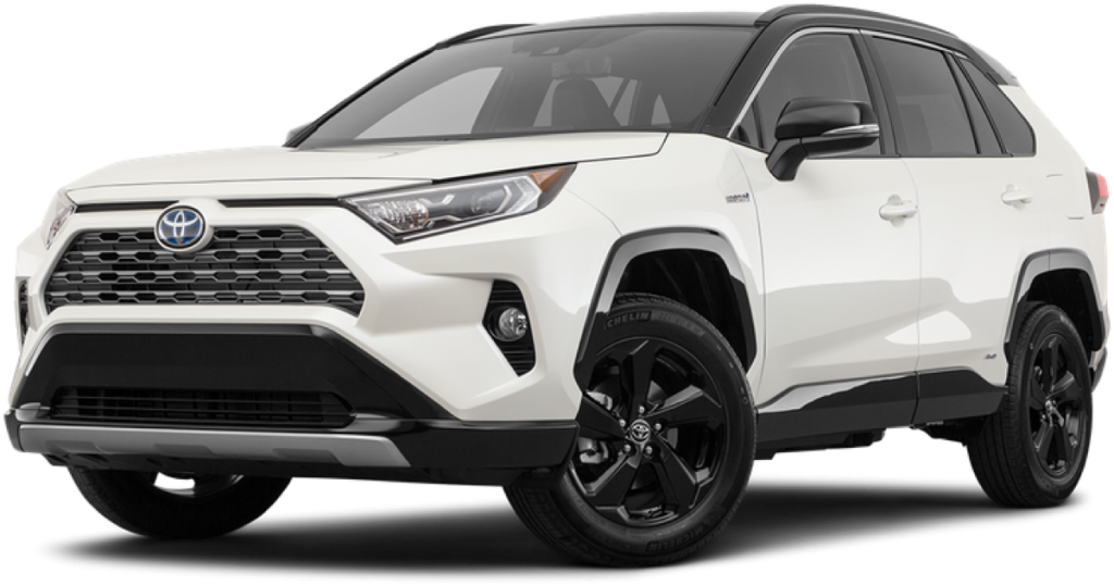 white toyota suv png image